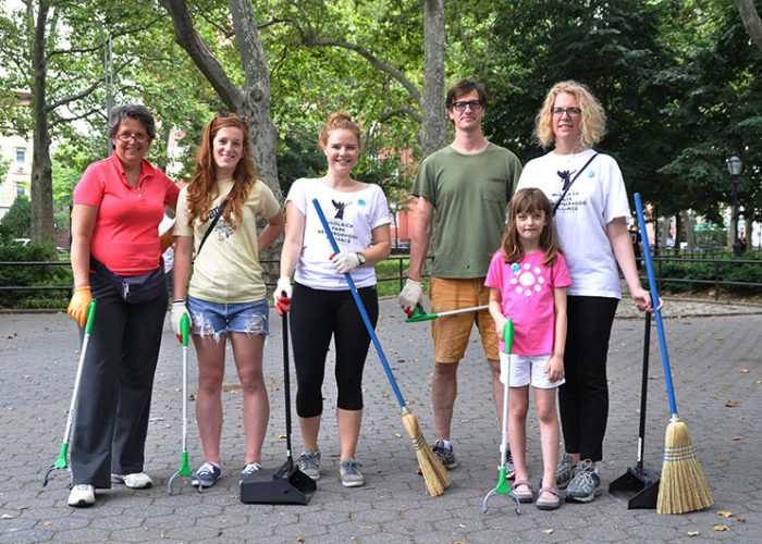 McGolrick Park volunteers